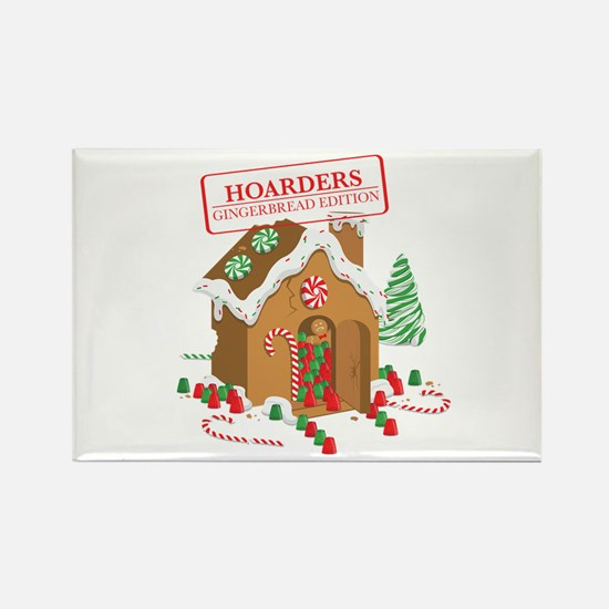 """""""Holiday Hoarders"""" Rectangle Magnet"""