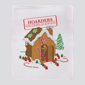"""Holiday Hoarders"" Throw Blanket"