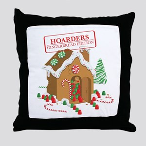 """""""Holiday Hoarders"""" Throw Pillow"""