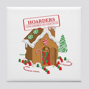"""Holiday Hoarders"" Tile Coaster"