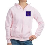 THF Small Logo Women's Zip Hoodie (Pink or Grey)