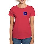 THF Logo Organic Women's T-Shirt (darker colors)