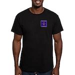 THF Logo Men's Fitted T-Shirt (dark)