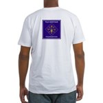 White Mens Fitted T-Shirt