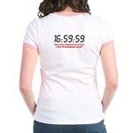 """""""16:59:59"""" Jr. Ringer T-Shirt"""