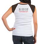 """""""16:59:59"""" Women's Cap Sleeve T-Shirt"""