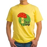 Funny dad Mens Classic Yellow T-Shirts