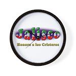 Jalisco Cristeros Wall Clock