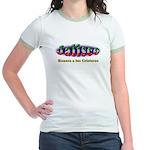 Jalisco Cristeros Jr. Ringer T-Shirt