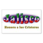 Jalisco Cristeros Sticker (Rectangle)