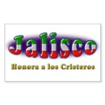 Jalisco Cristeros Sticker (Rectangle 10 pk)