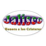 Jalisco Cristeros Sticker (Oval)