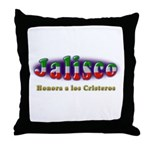 Jalisco Cristeros Throw Pillow