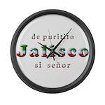 De Puritito Jalisco Large Wall Clock