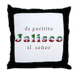 De Puritito Jalisco Throw Pillow
