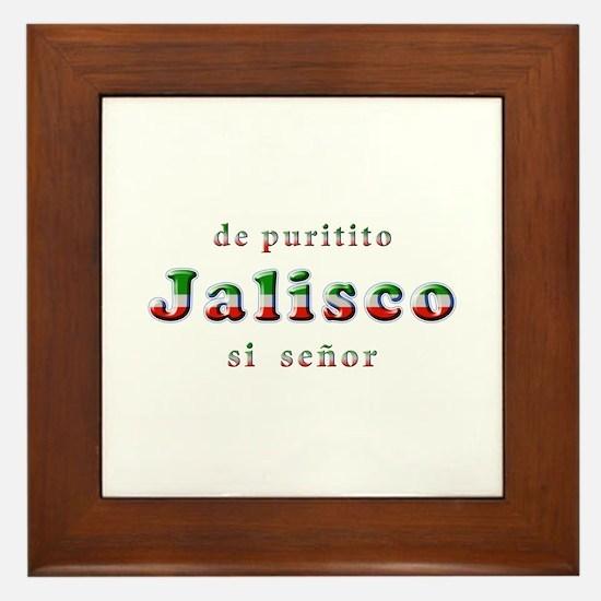 De Puritito Jalisco Framed Tile