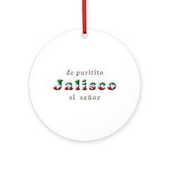 De Puritito Jalisco Ornament (Round)