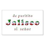 De Puritito Jalisco Sticker (Rectangle 50 pk)