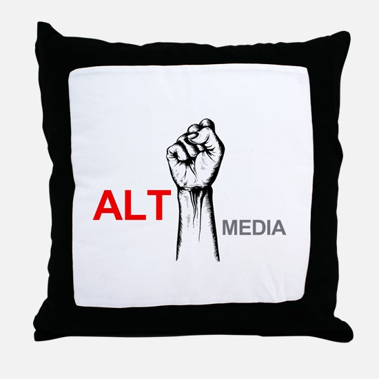 Cute Alt Throw Pillow