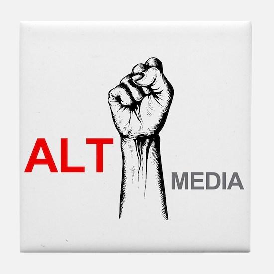 Alt Media Tile Coaster