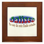 Jalisco Lindo Estado Framed Tile