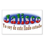 Jalisco Lindo Estado Sticker (Rectangle 10 pk)