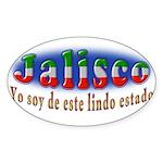 Jalisco Lindo Estado Sticker (Oval 50 pk)
