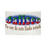 Jalisco Lindo Estado Rectangle Magnet