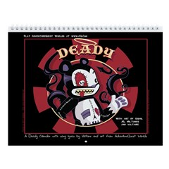 Deady 2014 Wall Calendar