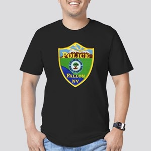 Fallon Nevada Police Men's Fitted T-Shirt (dark)