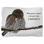 Coffee Owl Pillow Sham