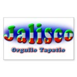 Orgullo Tapatío Sticker (Rectangle)