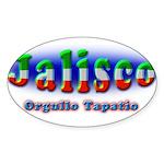 Orgullo Tapatío Sticker (Oval)