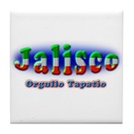 Orgullo Tapatío Tile Coaster