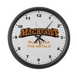 Rule over the metals! Large Wall Clock