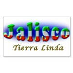 Tierra Linda Sticker (Rectangle)