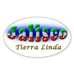 Tierra Linda Sticker (Oval 50 pk)