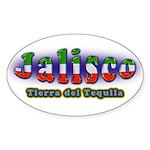 Tierra del Tequila Sticker (Oval)