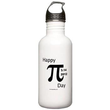 Happy Pi Day Stainless Water Bottle 1.0L