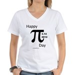Happy Pi Day Women's V-Neck T-Shirt