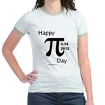 Happy Pi Day Jr. Ringer T-Shirt