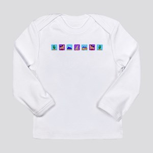 CACTUS_095 Long Sleeve Infant T-Shirt