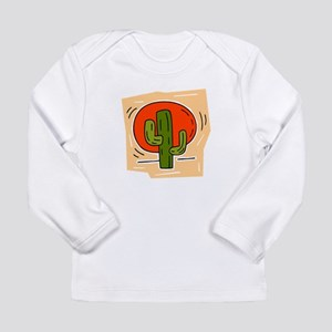 CACTUS_097 Long Sleeve Infant T-Shirt