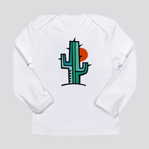 CACTUS_0931 Long Sleeve Infant T-Shirt