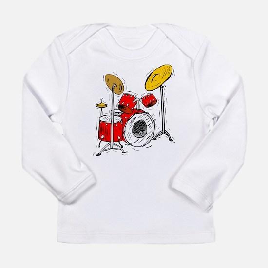 DRUM SET (4) Long Sleeve Infant T-Shirt