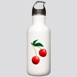 TWO CHERRIES Stainless Water Bottle 1.0L