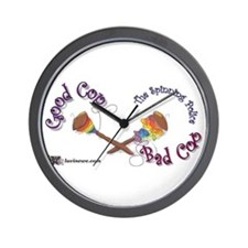 Spinners Police Wall Clock