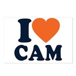 Cam Love Postcards (Package of 8)