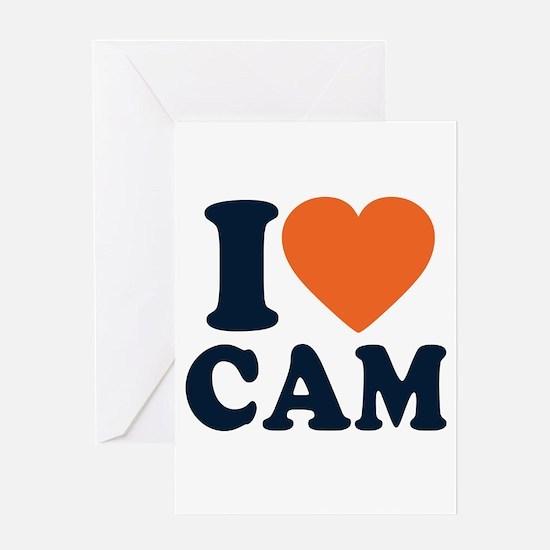 Cam Love Greeting Card