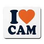 Cam Love Mousepad